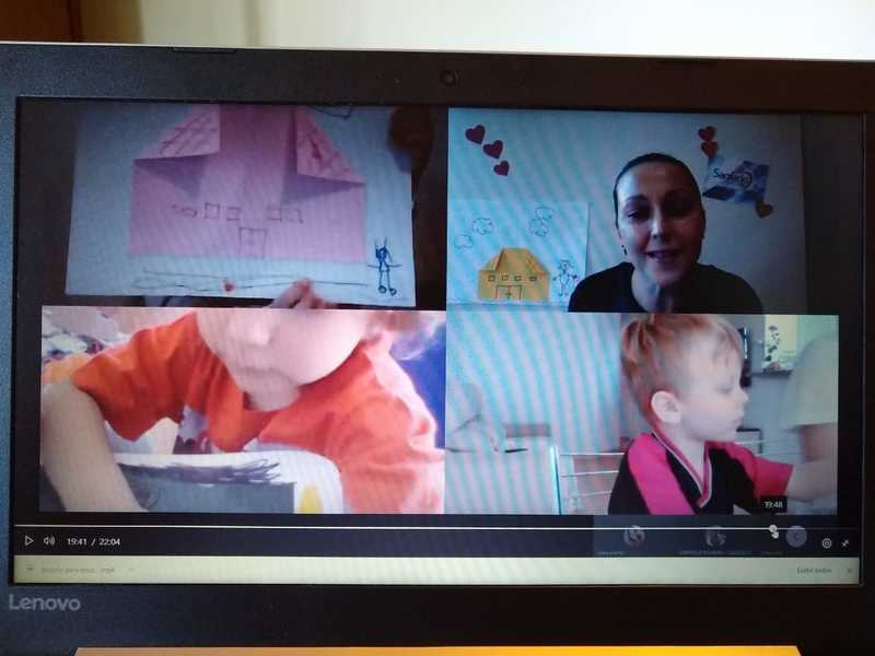 Infantil III recordando os espaços de aprendizagem