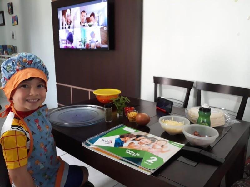#SagradoEmCasa – Alimentação saudável no Infantil V
