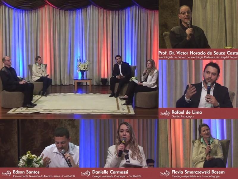 """SAGRADO realiza Live """"Mesa Redonda: Transformação da Educação"""""""