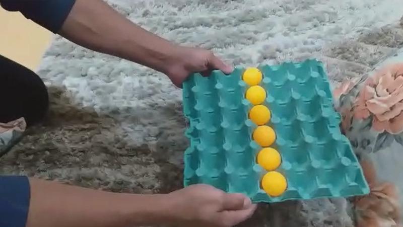Desafio das bolinhas