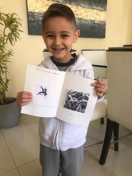 #SagradoEmCasa – Crianças do Infantil V exploram as rimas