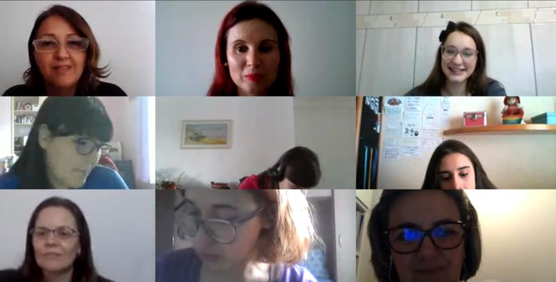 #SagradoEmCasa - Normalistas participam de palestra sobre o trabalho com bebês