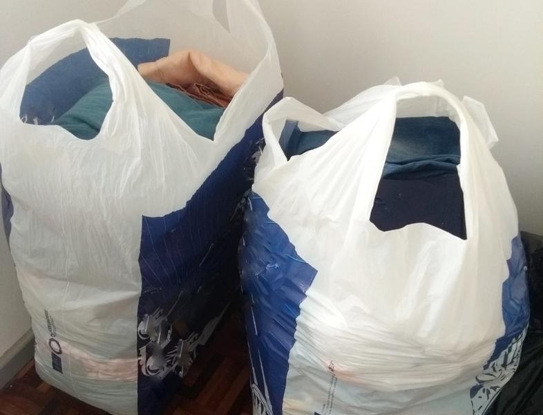 Serviço de Pastoral Escolar realiza campanha de doação de roupas e alimentos