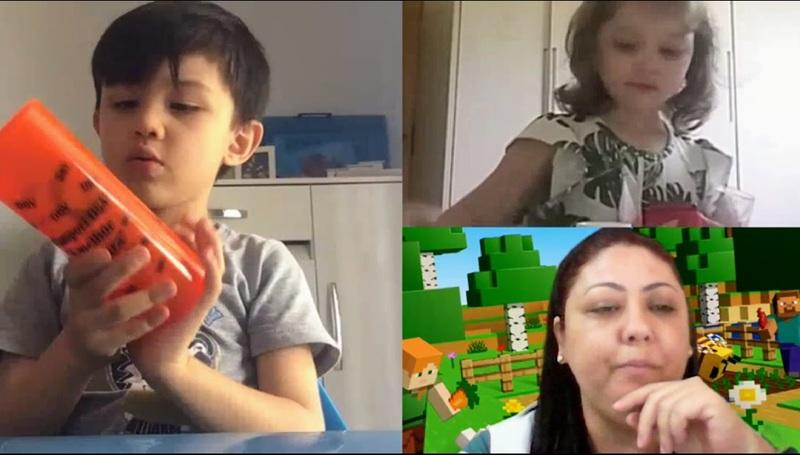 #SAGRADO EM CASA – Infantil III: aprendendo brincando