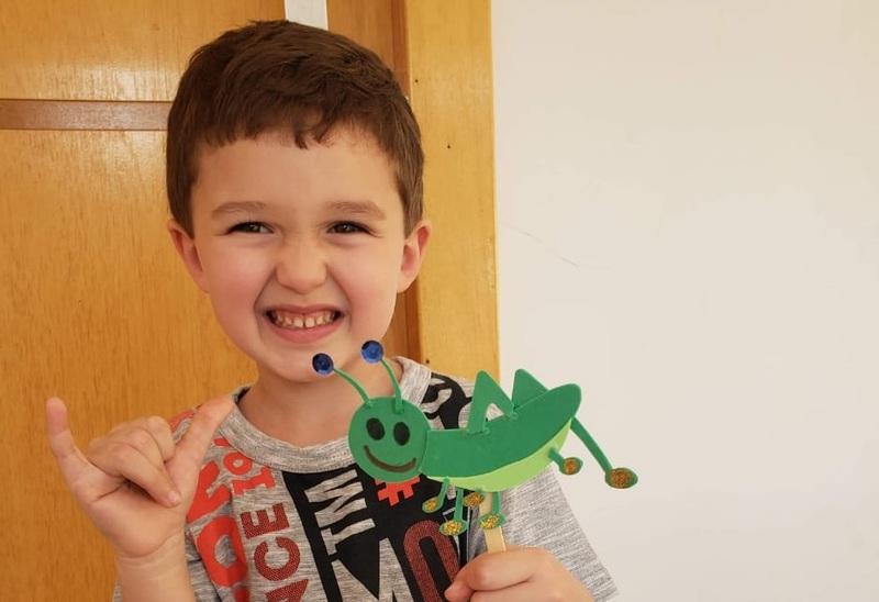 #SagradoEmCasa – Infantil IV: criatividade e Imaginação na composição de histórias