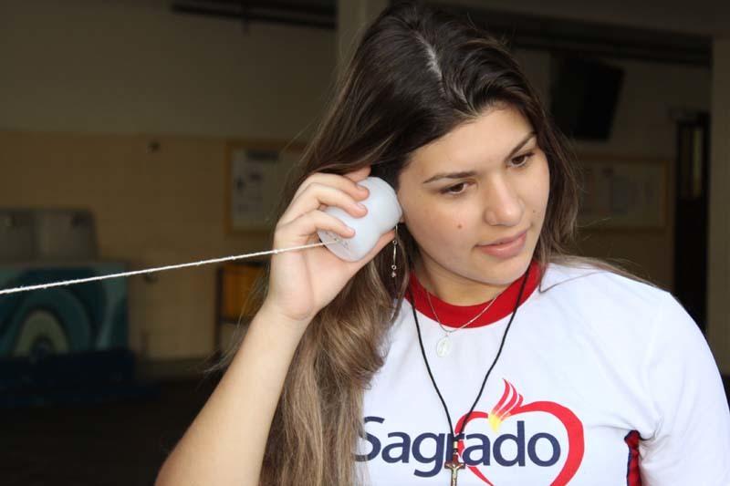 """Ondulatória e o """"telefone de latinha"""""""