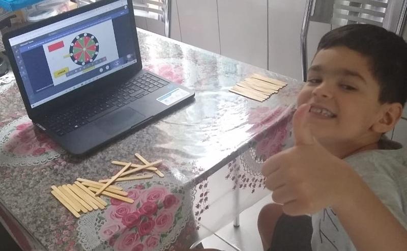 #SAGRADO EM CASA – Infantil V: aprendendo brincando