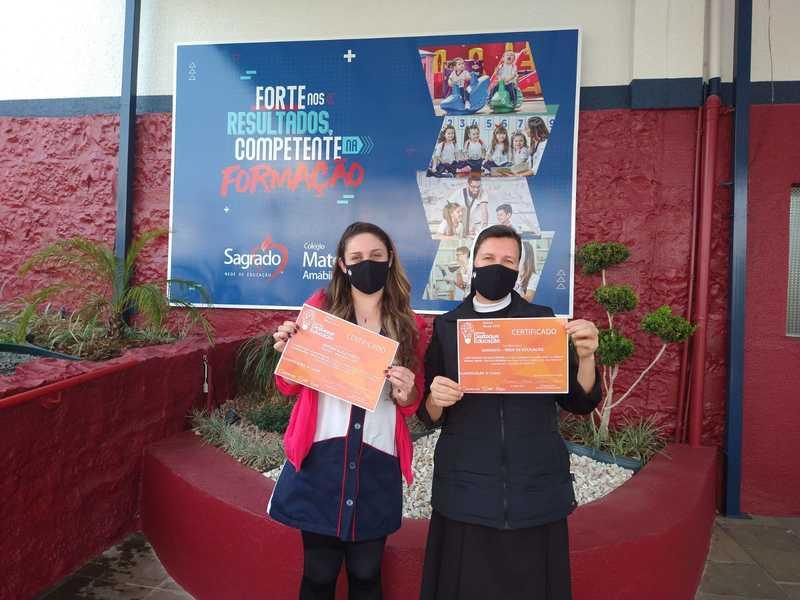 Colégio Mater Amabilis consquista 3º lugar em Prêmio Destaque Educação 2020