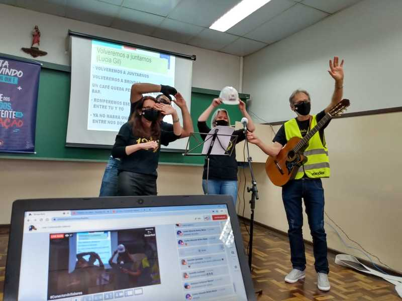 Conectando Saberes: educandos do Ensino Médio participam de Lives interdisciplinares