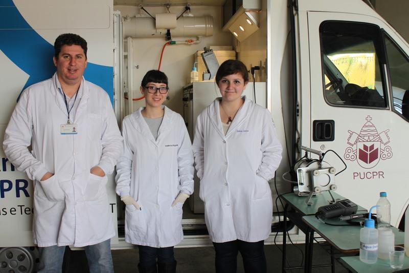Laboratório Móvel de Análise Ambiental