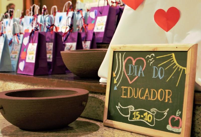 Celebração do Dia do Educador