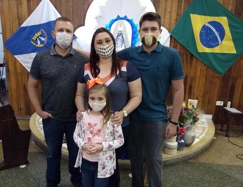 Sagrado PG participa da Novena em honra a Padroeira do Brasil no Santuário Diocesano