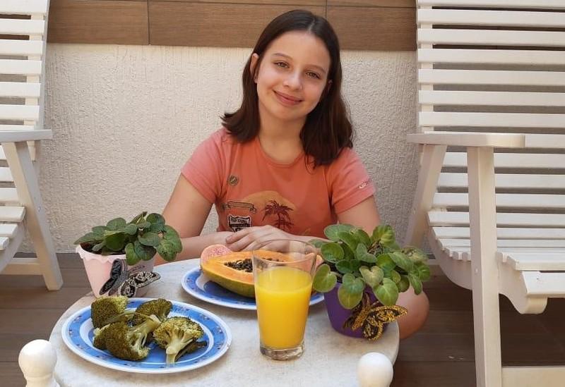 #SagradoEmCasa - Turma do 5º ano 2 aprende como a alimentação saudável pode garantir uma vida feliz