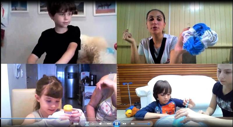 Tie-Dye da Educação Infantil