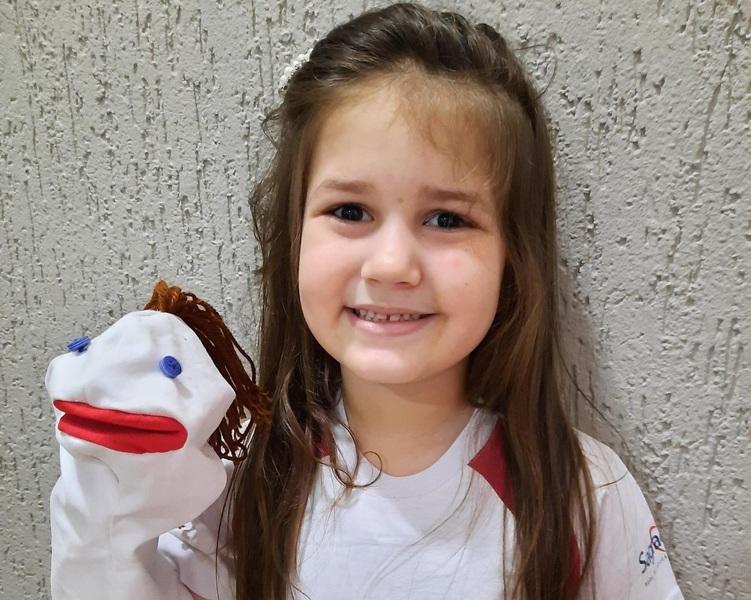#SAGRADO EM CASA - Infantil IV 2: confeccionando fantoches
