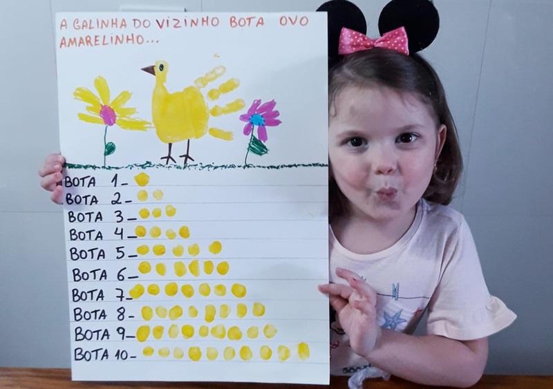 #SagradoEmCasa – Infantil III: Aprendendo os Números Brincando