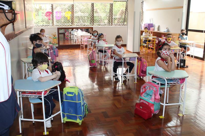 Retorno às aulas presenciais