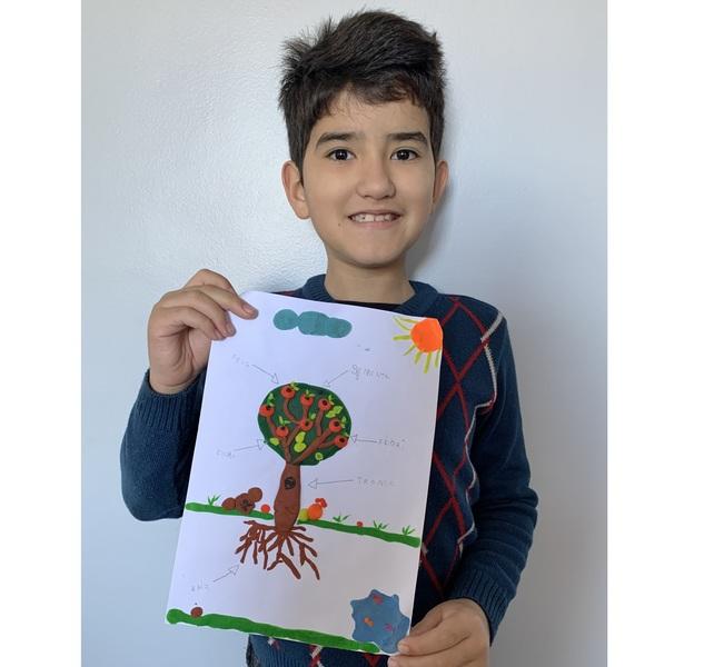 SAGRADO EM CASA: 3ºs anos expõem seus dons artísticos em atividade diferenciada de Ciências