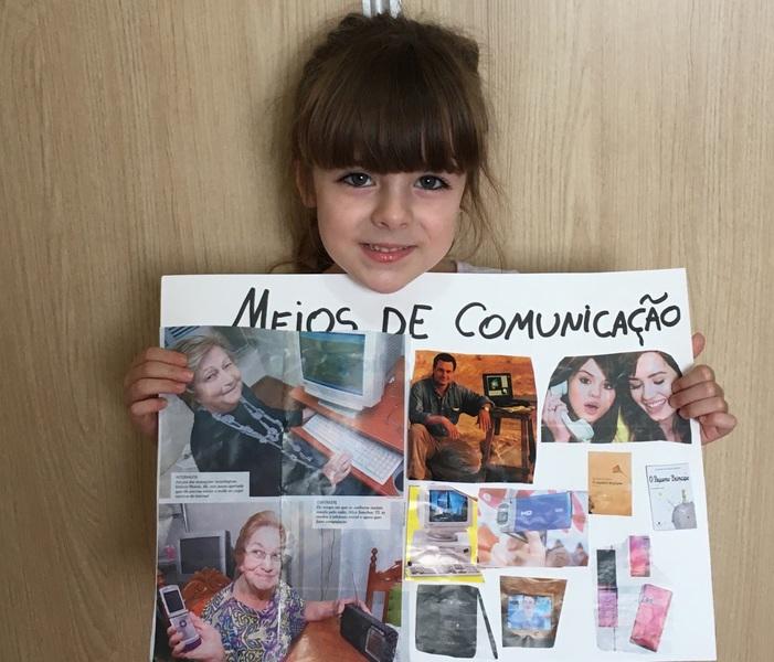 #SagradoEmCasa - Infantil IV: Os Meios de Comunicação
