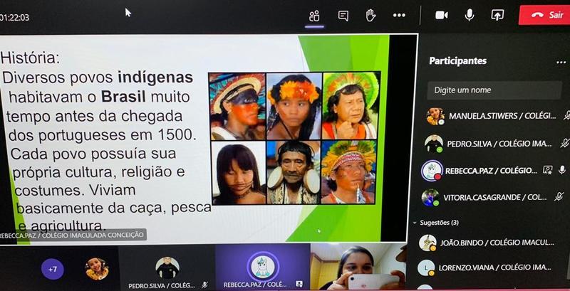 #SagradoEmCasa – Painel Virtual nos 3ºs anos