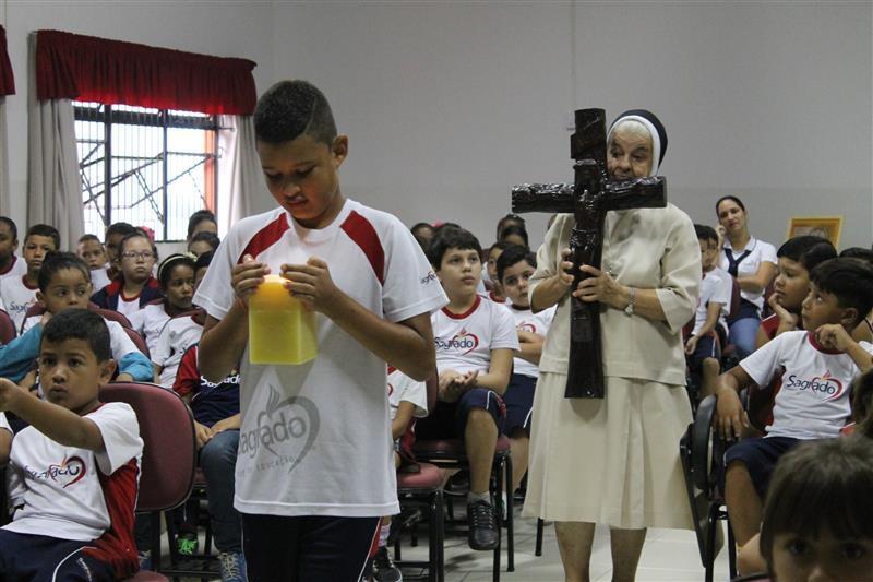 Educandos Participam de Palestra sobre a Campanha da Fraternidade de 2016