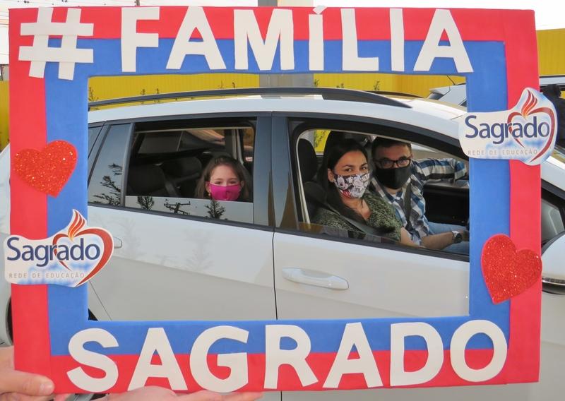 Educação Infantil e Ensino Fundamental - Anos Iniciais participam do Encontro das Famílias SAGRADO
