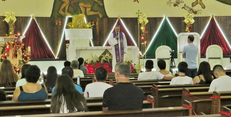 9ºs anos participam de Missa em Ação de Graças pela Conclusão do Ensino Fundamental