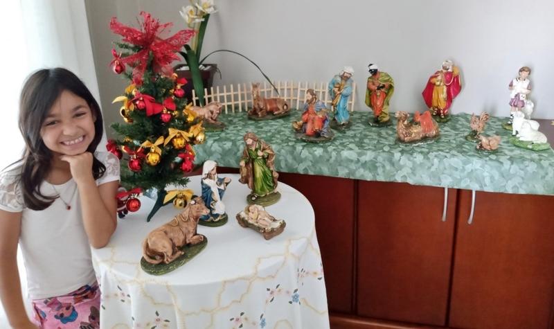 SAGRADO EM CASA: 1ºs anos realizam atividades sobre o sentido do Natal