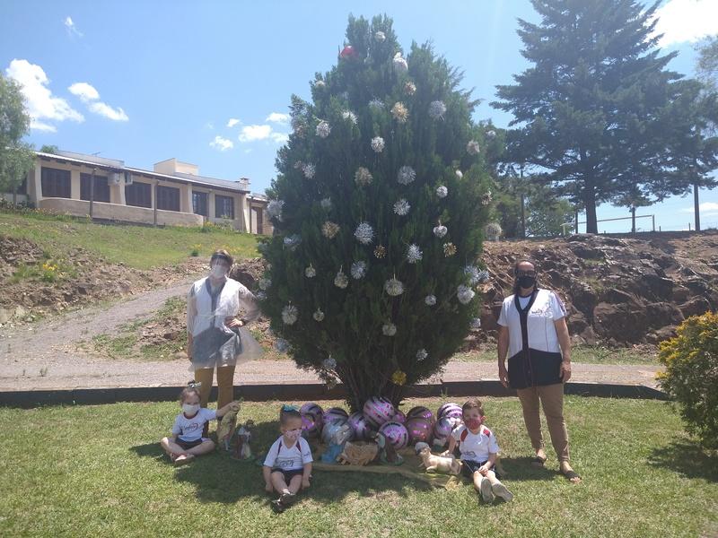 Intervenção de Natal da Pastoral Escolar