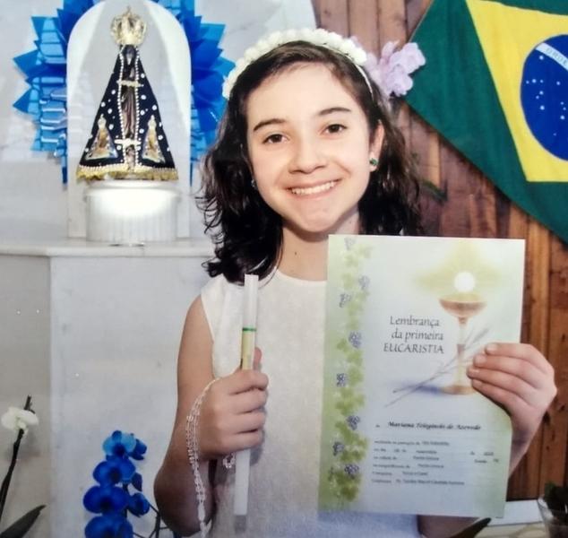 SAGRADO PG parabeniza os educandos que fizeram Primeira Eucaristia e Crisma em 2020