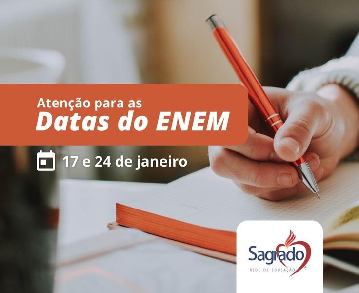 Educandos realizam primeira prova do ENEM 2020 no domingo