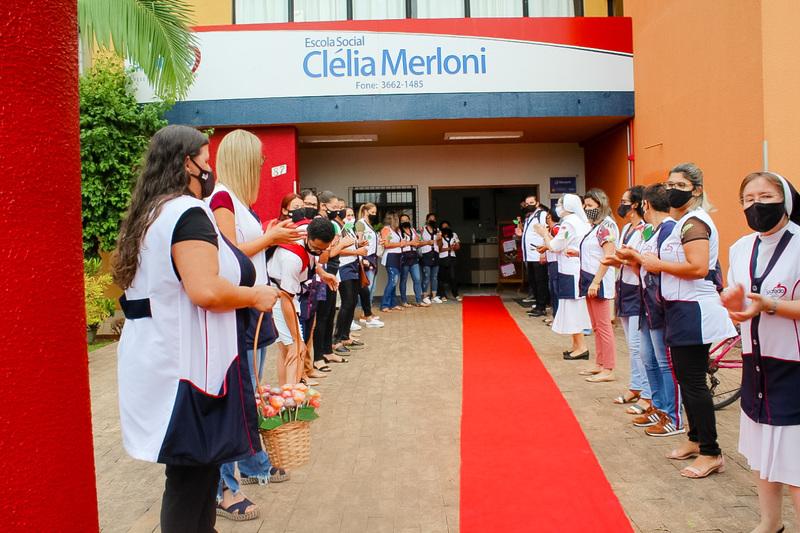 Escola Social Clélia Merloni acolhe seus Educadores