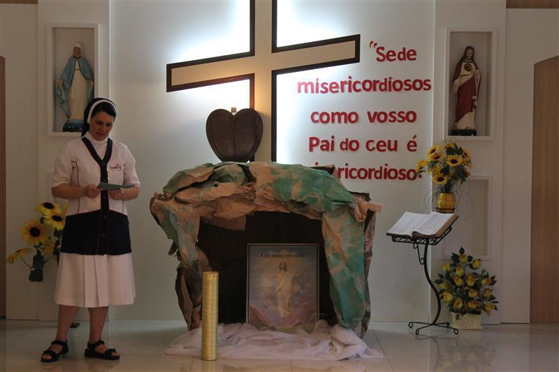 Celebração de Páscoa envolve Educadores e Educandos da Escola Social Clélia Merloni