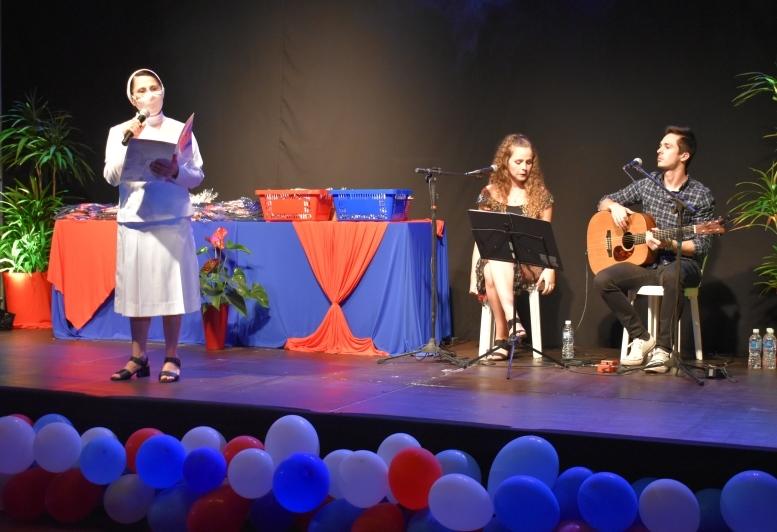 Colégio Sagrado realiza aula inaugural para o Ensino Médio