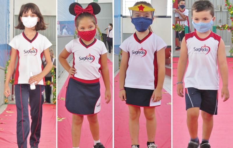 SAGRADO PG promove o Desfile de Máscaras para a Educação Infantil e Ensino Fundamental – Anos Iniciais