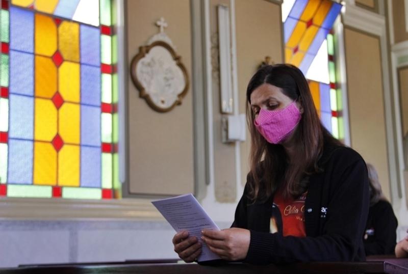 Aniversário de Madre Clélia: educadores celebram com meditação da Via Sacra