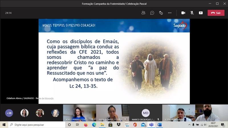 Pastoral realiza Formação On-line sobre C.F. Ecumênica com Educadores