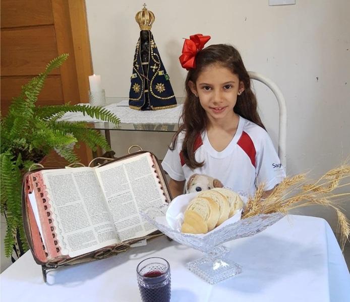 Celebrando a Páscoa 2021 no Colégio Coração de Jesus