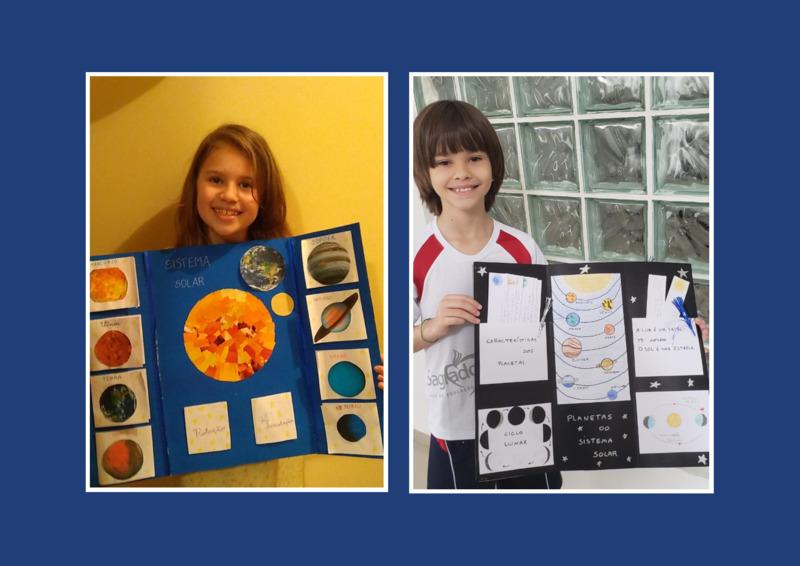 #SagradoEmCasa - Apresentação da avaliativa de Ciências mostra que os 4ºs anos são produtivos e organizados no quesito criatividade!