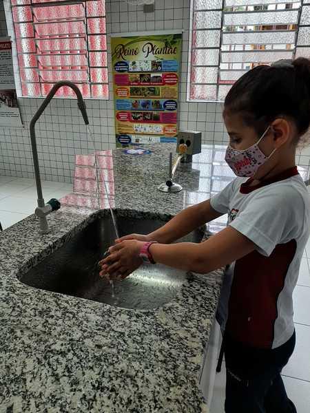 O INFANTIL V ALERTA!!! Lavem as mãos