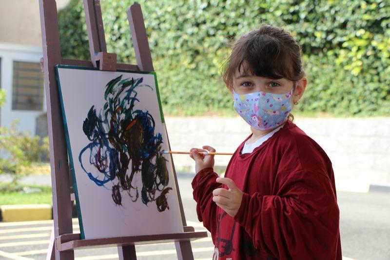 Infantil III e o mundo das cores