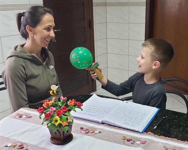 1ºs anos: entrevista com a mamãe!