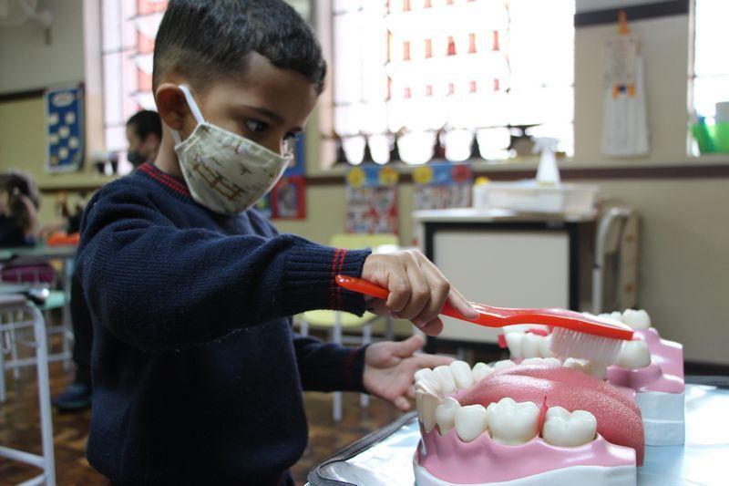 Infantil III e os hábitos de higiene