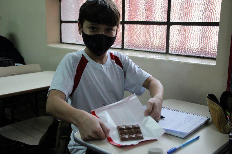 Descobrindo as frações com chocolate