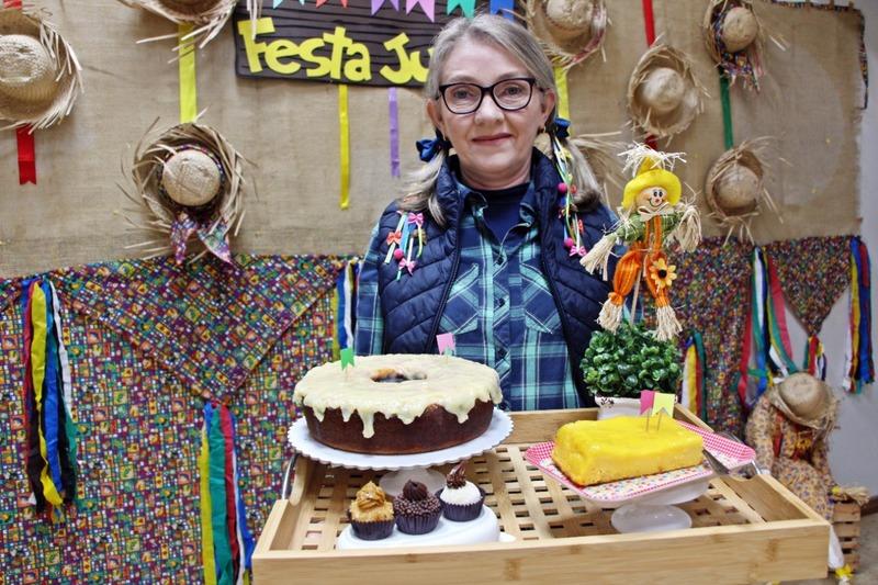 Aprenda a fazer o famoso bolo de milho do nosso Festival Folclórico!