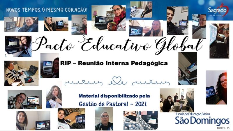 Reunião Interna Pedagógica (RIP) – Pacto Educativo Global