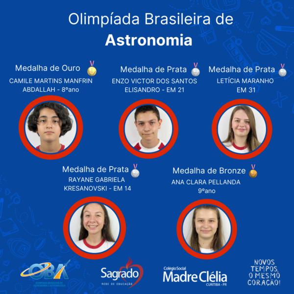 Olimpíada Brasileira de Astronomia e Astronáutica (OBA – 2021)