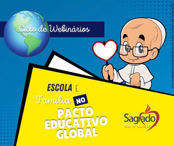 Ciclo de Webinários - Pacto Educativo Global