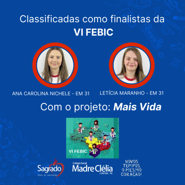 VI FEBIC – Feira Brasileira de Iniciação Científica