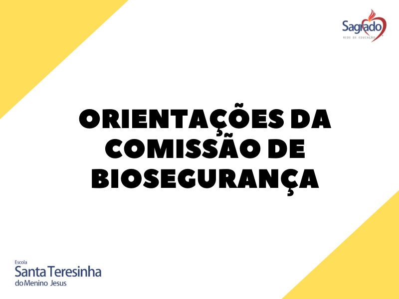 Orientações da Comissão de Biosegurança